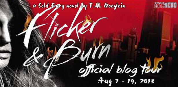 Flicker & Burn by T M  Goeglein ~ Jean BookNerd