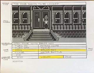 Maqueta de Maniac Mansion