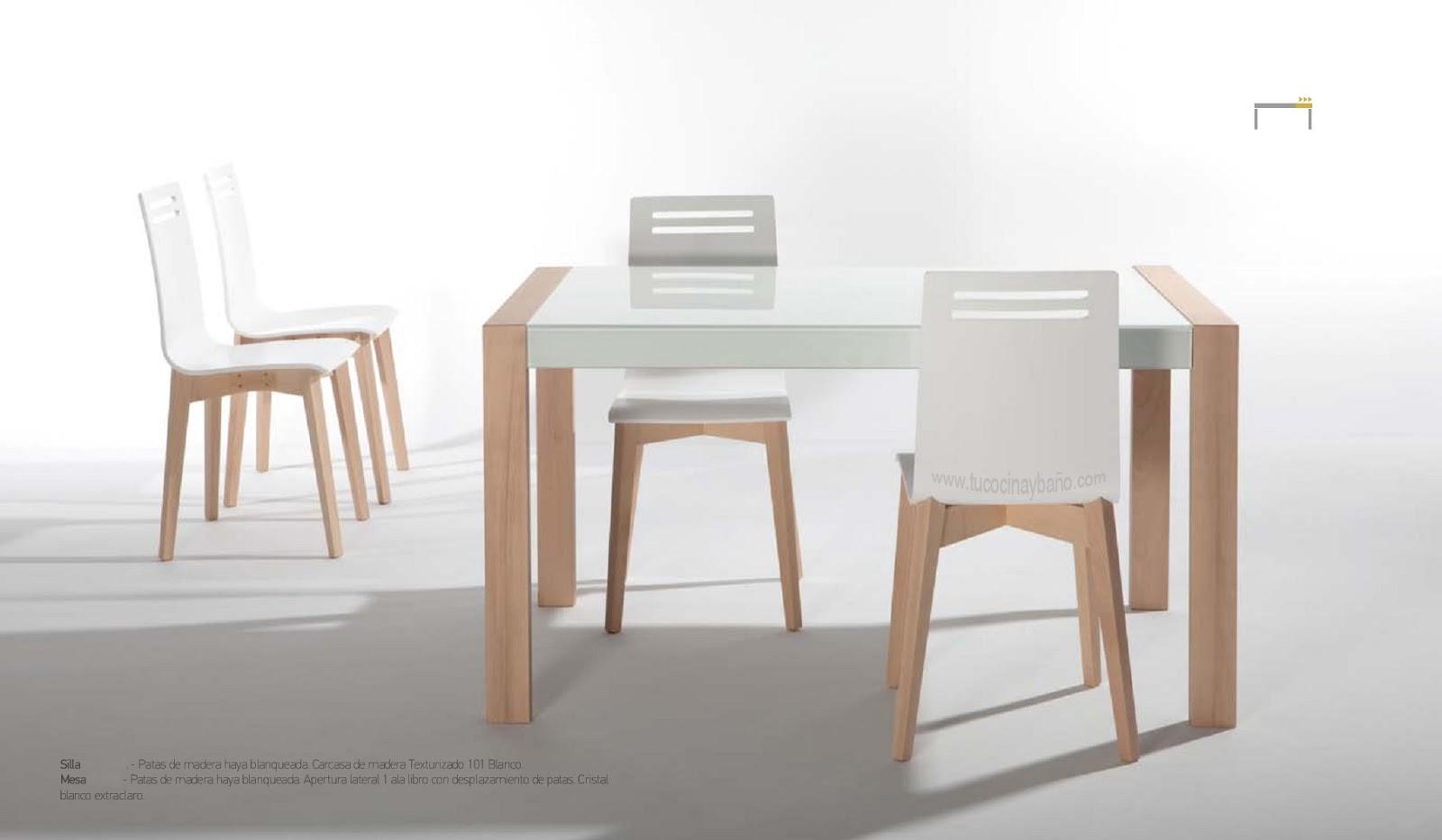 Mesa de cocina de estilo nordico ~ Reformas Guaita