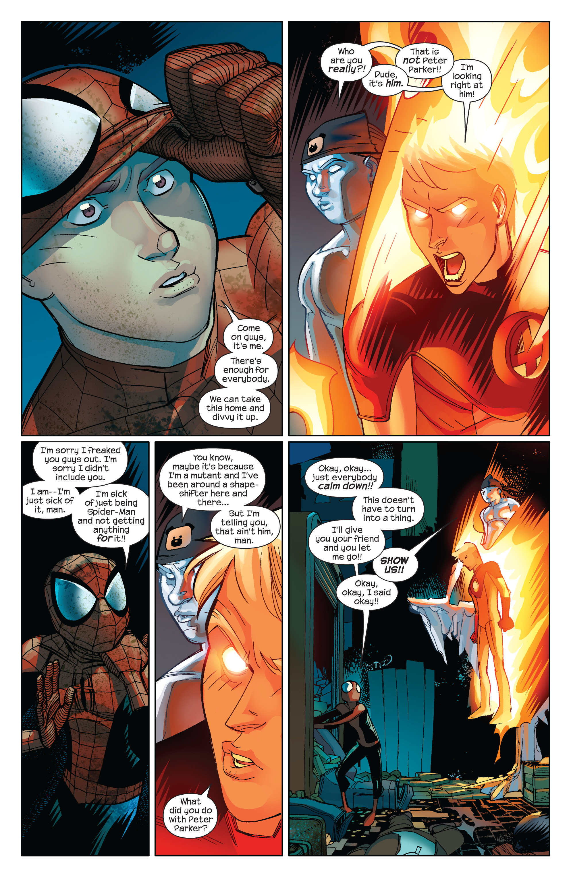 Read online Ultimate Spider-Man (2009) comic -  Issue #14 - 5