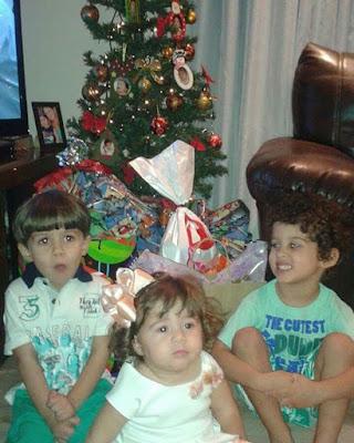 natal com crianças