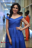 Actress Ritu Varma Pos in Blue Short Dress at Keshava Telugu Movie Audio Launch .COM 0049.jpg