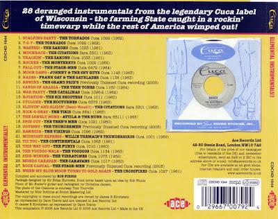 VA - Elemental Instrumentals !!