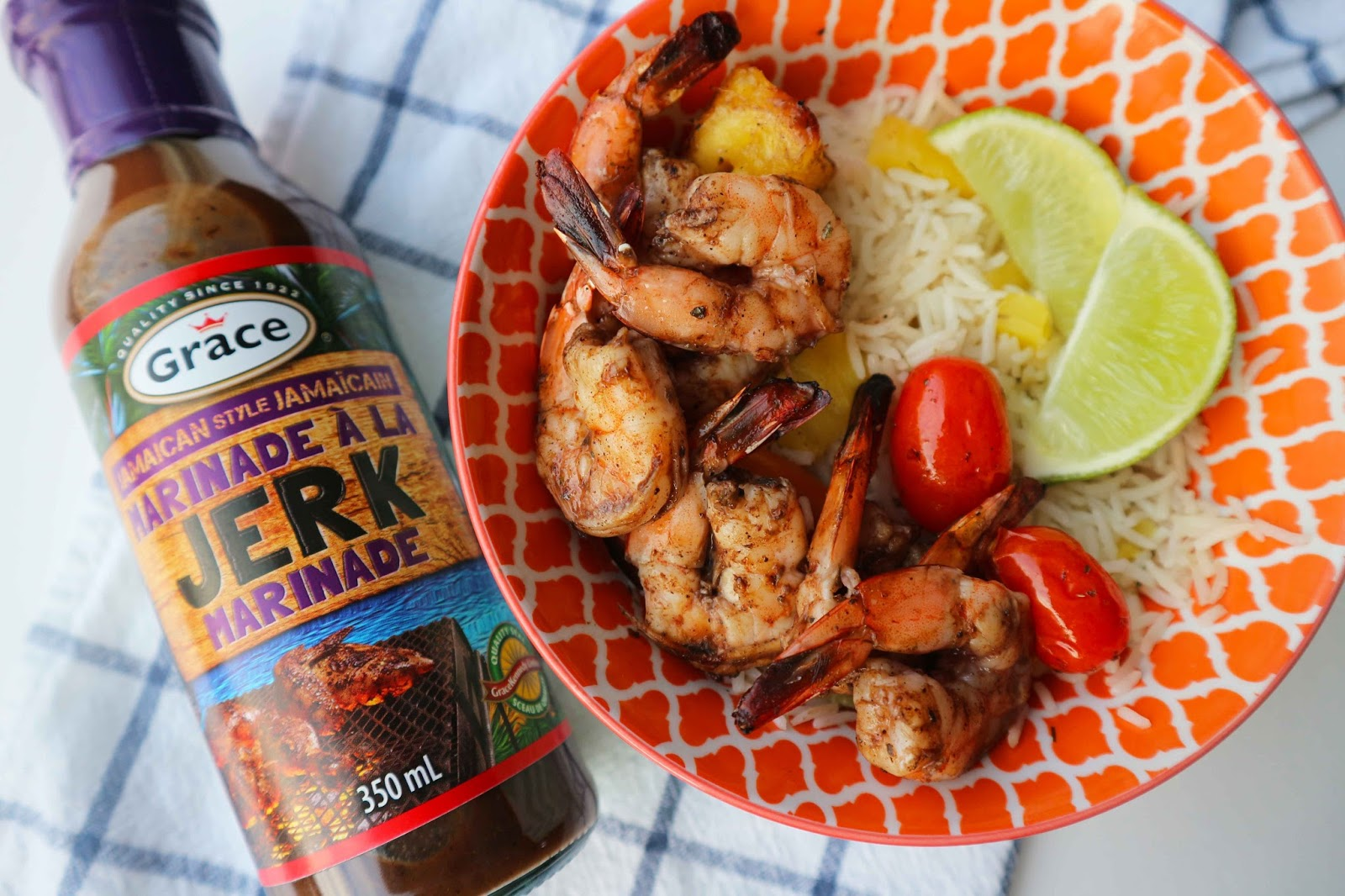 Jerk Shrimp Pineapple Rice