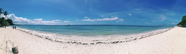 Beach front of Jpark Island Resort & Waterpark Panglao Bohol