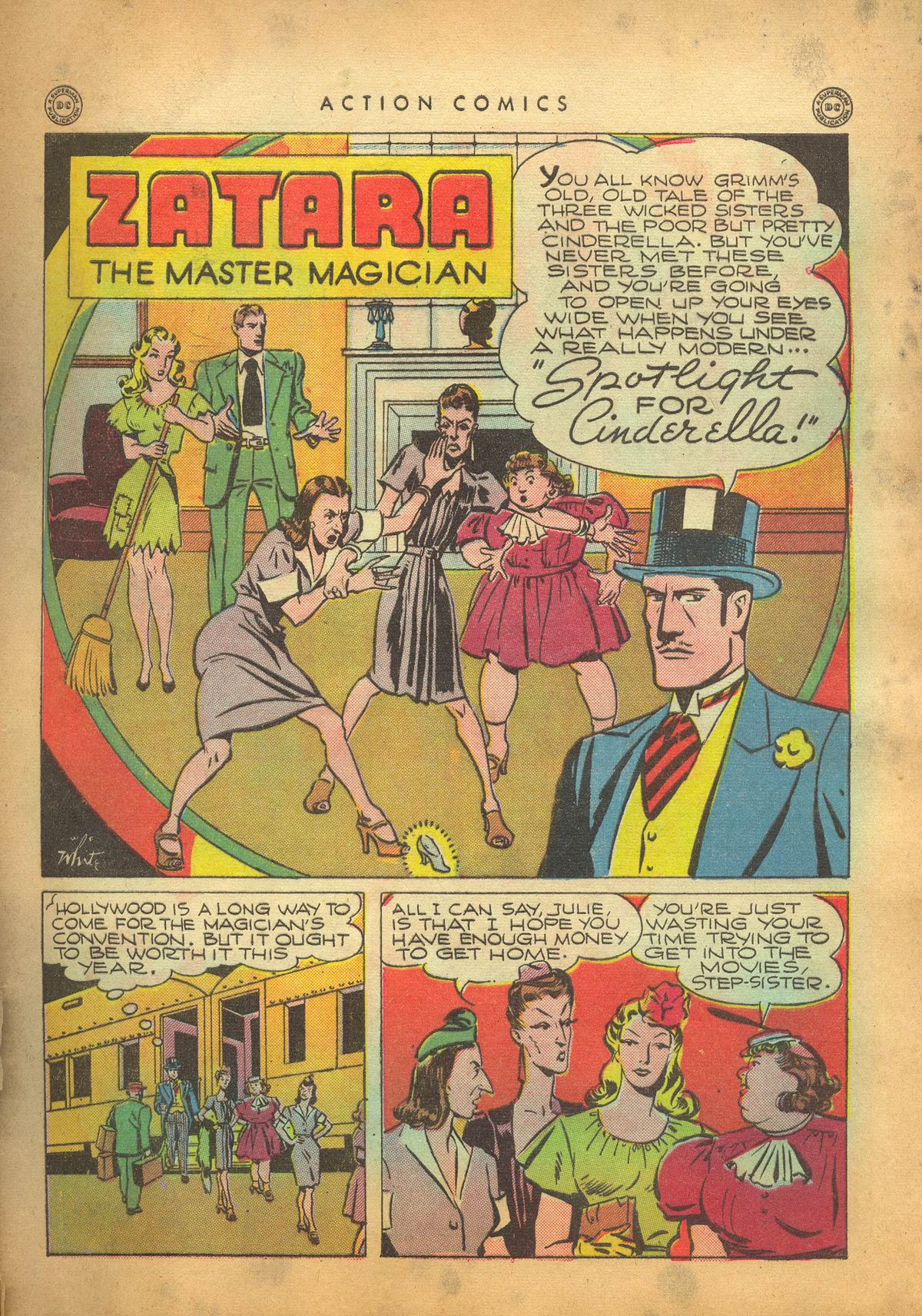 Read online Action Comics (1938) comic -  Issue #95 - 44