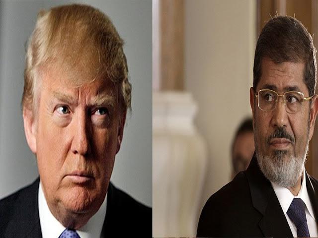 شاهد ما الذي قاله ترامب بعد  فوز محمد مرسي في انتخابات الرئاسة