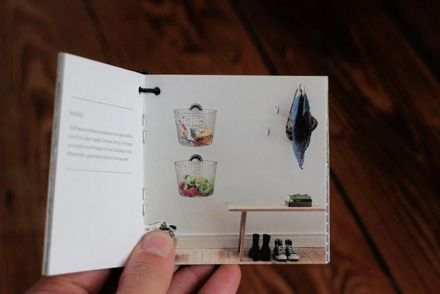 Hängekorb von Korbo Idee an der Wand