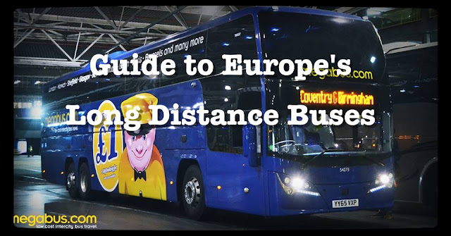 Europe long distance bus,megabus, flixbus.