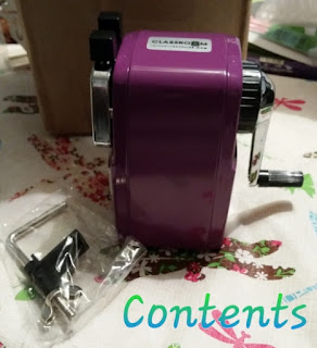 purple Classroom Friendly Supplies  Pencil Sharpener