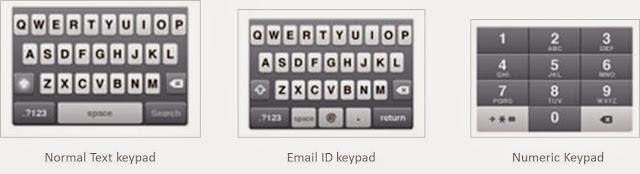 Mobile keyboards