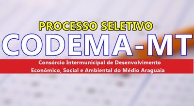 Concurso CODEMA-MT 2017 - Araguaia