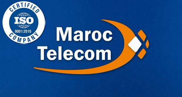 إتصالات المغرب تحصل على شهادة الجودة ISO 9001 إصدار 2015 عن جميع خدماتها