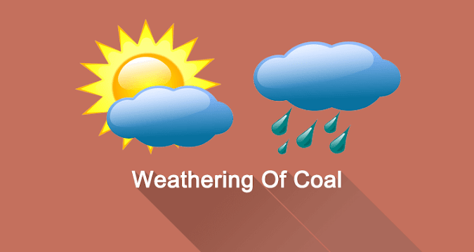 What Is Meant By Weathering Of Coal?