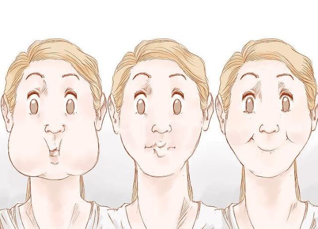 طرق تنحيف الوجه السمين