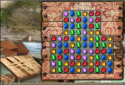 寶石探秘6:藍寶石龍,好玩耐玩的益智寶石消除!