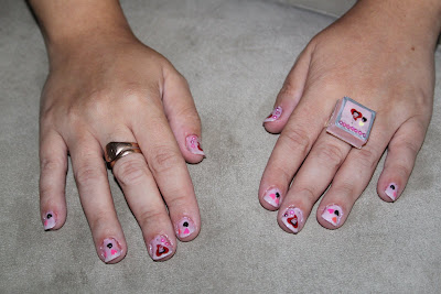 Lovely Betty Boop Nails.