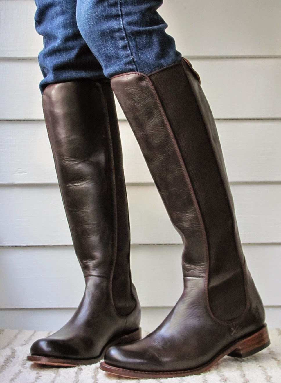 Howdy Slim Riding Boots For Thin Calves Frye Riding Chelsea