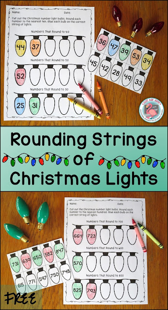 Enjoy this free Christmas themed rounding activity, perfect for second or third graders. Choose rounding two-digit numbers to the nearest ten, three-digit numbers to the nearest ten, or three-digit numbers to the nearest hundred.