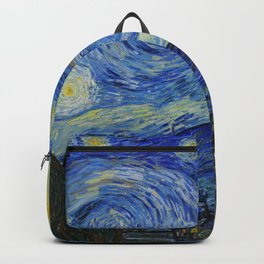Starry Night VanGogh backpack