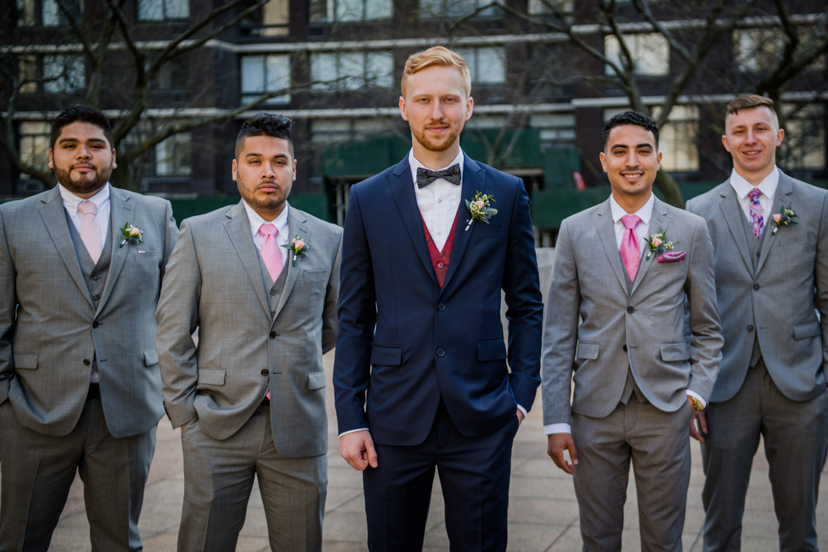 The Groom and His Crew.