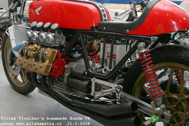 HONDA V8 800CC by Tjitze Tjoelker   MARTIN'S DREAM GARAGE