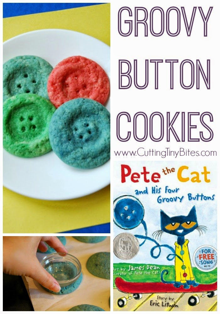 Pete the Cat Button Cookie Activity