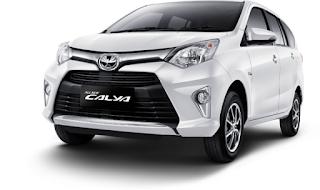 Toyota Calya Warna White