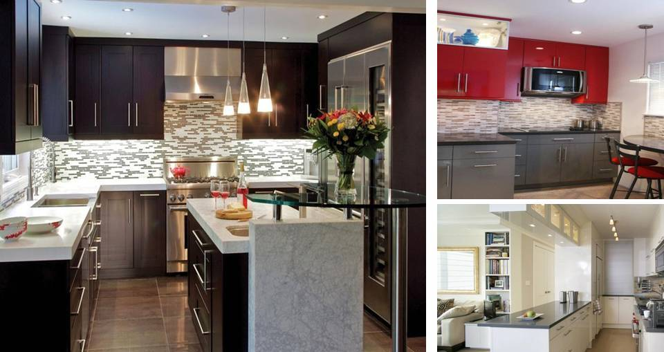 22 Jaw Dropping Small Kitchen Designs: JAW-DROPPING SMALL KITCHEN DESIGNS