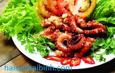 Những lợi ích khi bạn ăn bạch tuộc tươi sống