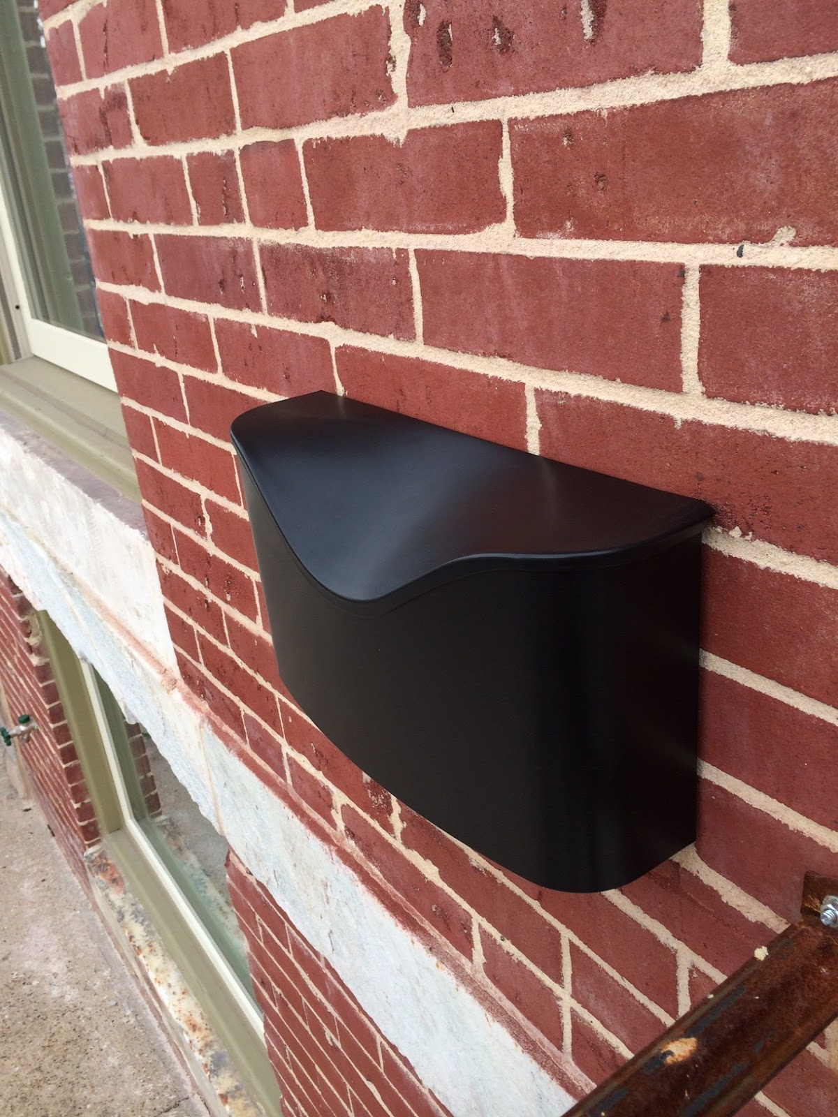 You Should Leave Enough Room Between The Head And Wall For Your Mailbox To Sit Comfortably But Ly