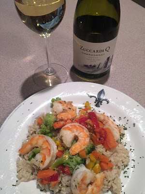 wine and food pairing with Argentina Zuccardi Chardonnay