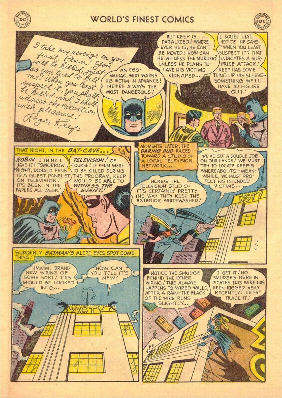 Read online World's Finest Comics comic -  Issue #58 - 58
