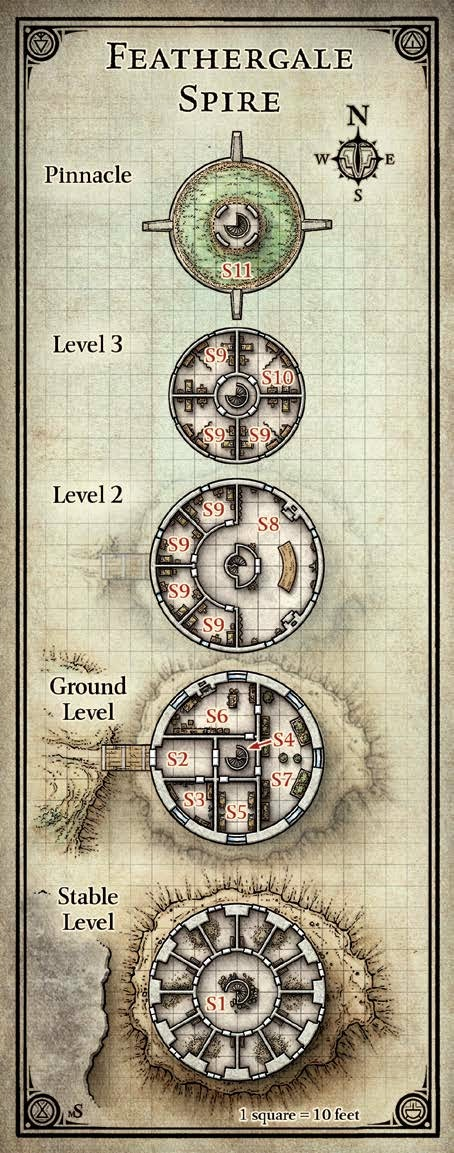 Dungeons And Dragons Map Key