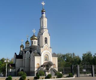 Константиновка. Свято-Успенская церковь. 2007 г.