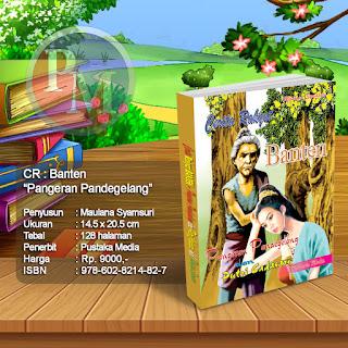 CR : BANTEN Pangeran Pandegelang & Putri Cadasari | Rp. 9000,-