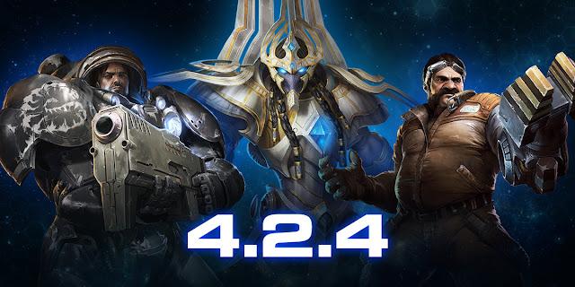 Nuevo parche en Starcraft 2 version 4.2.4