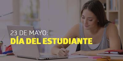 23 mayo Día Estudiante
