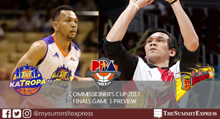 PBA Finals 2017 Game 1: San Miguel Beermen vs TNT KaTropa