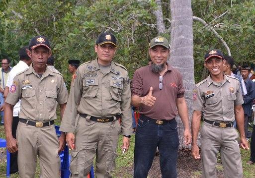 Ini Pesan Kasatpol PP Pada Personil, Yang Bertugas Diwilayah Kepulauan