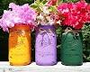 30+ Καλοκαιρινές Κατασκευές & Διακοσμήσεις με γυάλινα βάζα