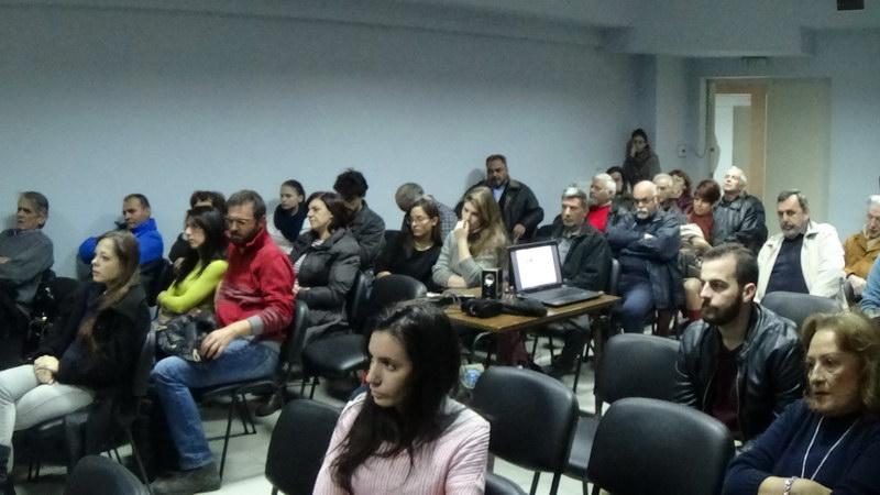 Εκδήλωση στην Αλεξανδρούπολη για τη συμβολή του ΚΚΕ και της ΚΝΕ στην πάλη του λαού μας την περίοδο της χούντας