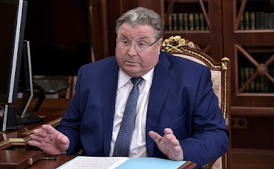 Acting Head of the Republic of Mordovia Vladimir Volkov.