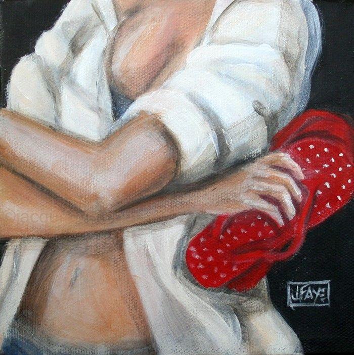 Американский художник. Jacqui Faye
