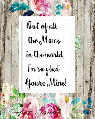 Rustic Mother's Day Printable