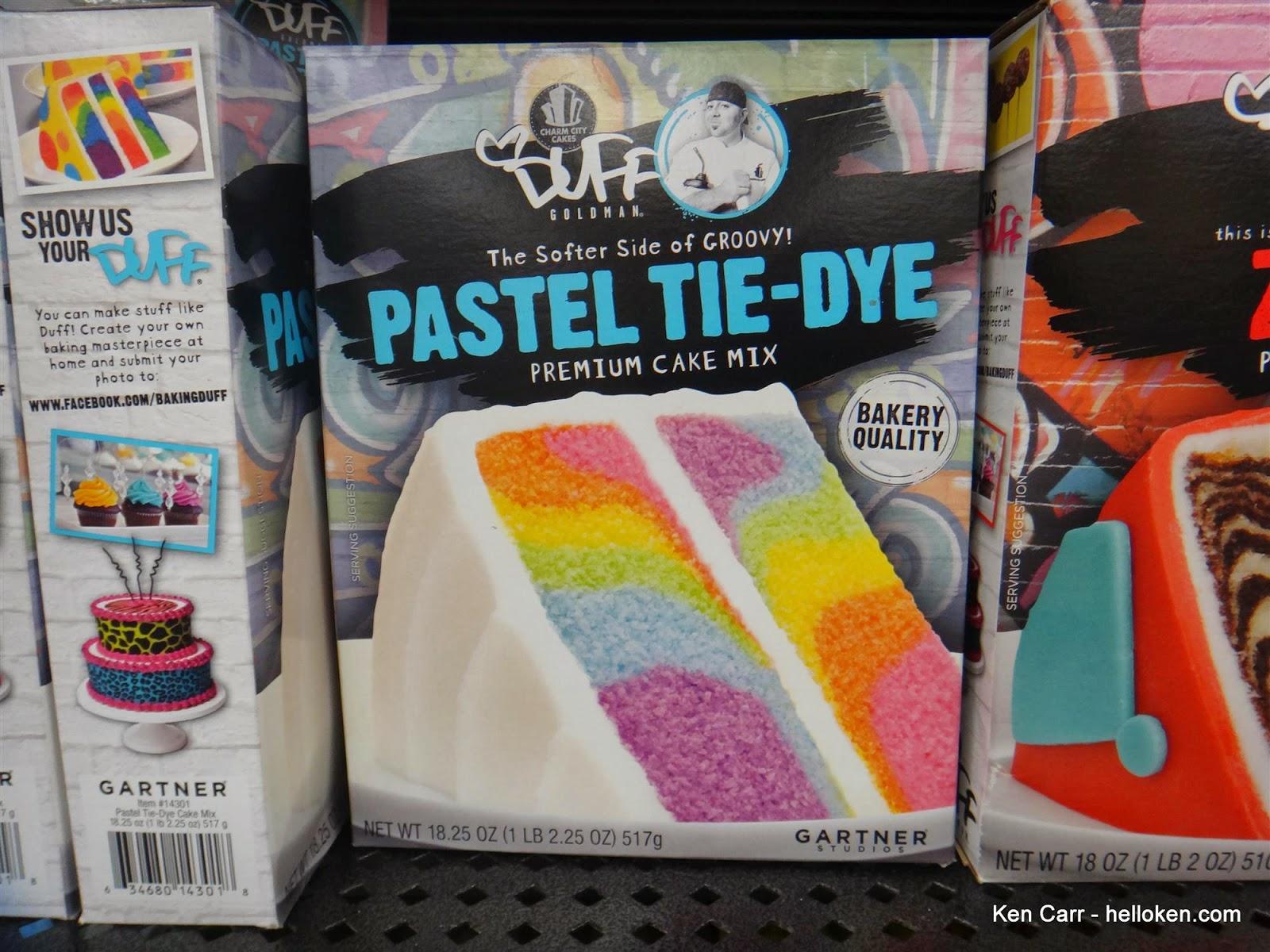 Duff Boxed Cake Mix