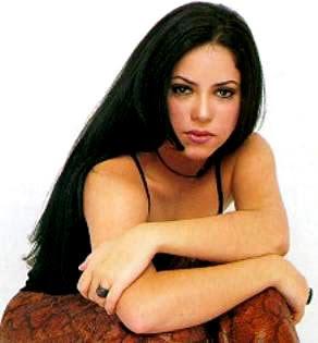 Foto de Shakira en sus inicios