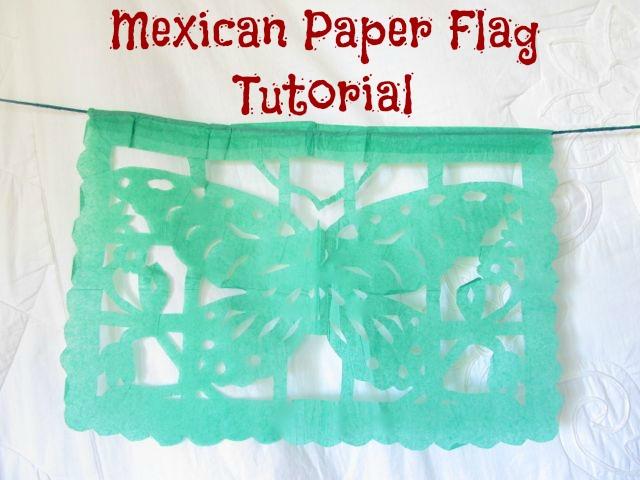 sweaterdoll allison dey tutorial mexican tissue paper flags