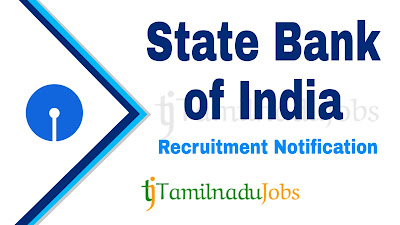 SBI Recruitment notification 2019, govt jobs for graduates, central govt jobs, tn govt jobs