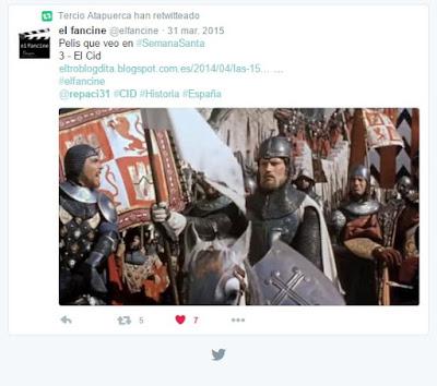 El Cid Histórico-  Película El Cid - Charlton Heston - Anthony Mann - el fancine - cine histórico - ÁlvaroGP - Twitter - @repaci31 - @elfancine